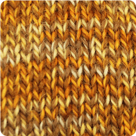 Hand-Dyed Swizzle Alpaca Yarn - Goldenrod