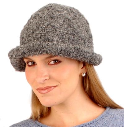 Boucle' Alpaca Hat