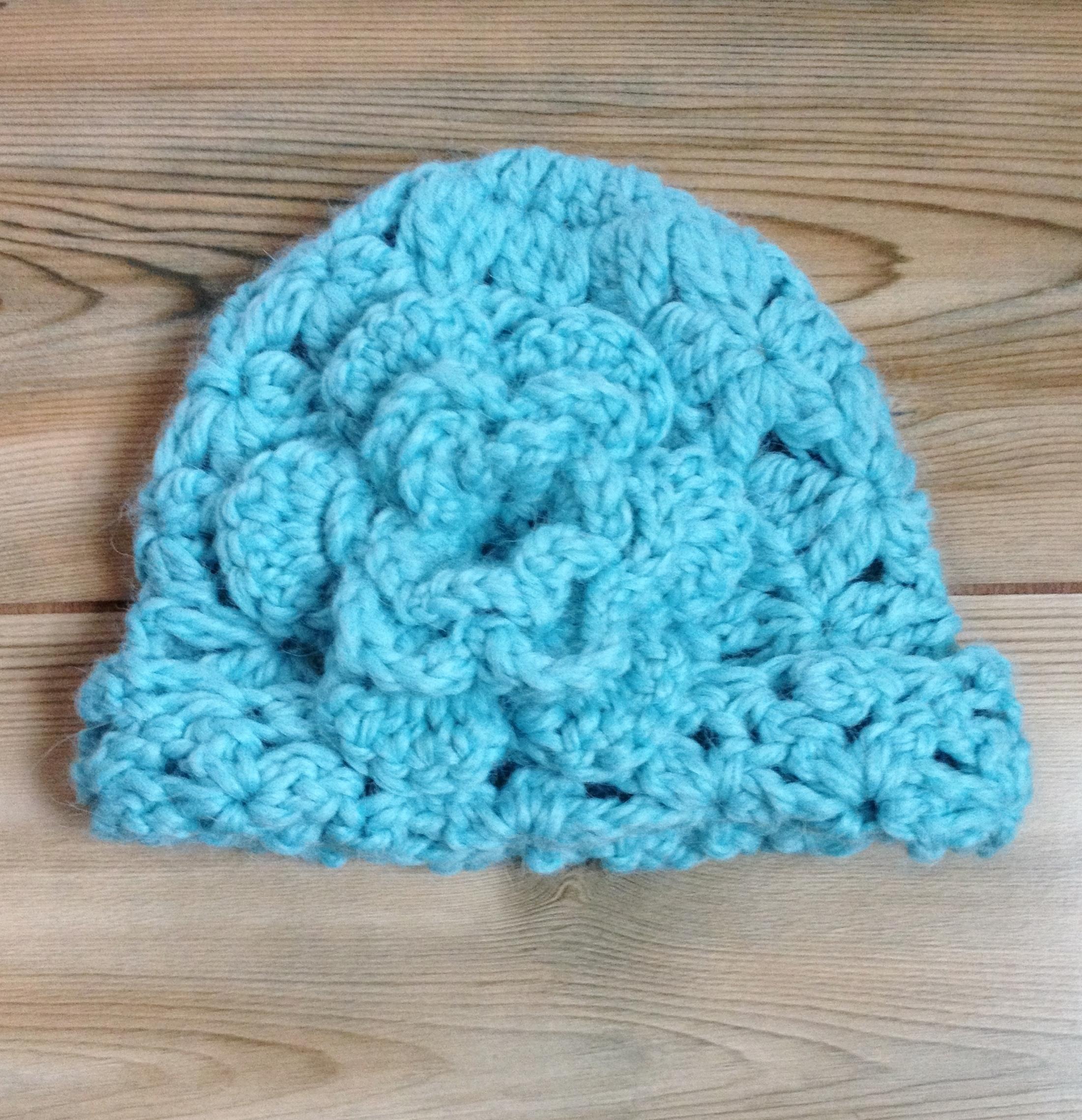 Children's Cloche Hat - 6-12 Months 17687