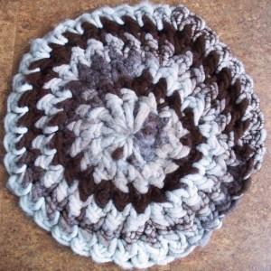 Alpaca Rug Crocheting Class 00062
