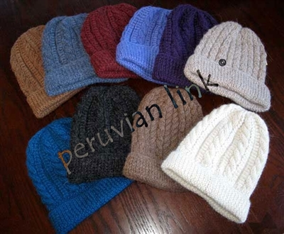 Trenza Cable Alpaca Hat PL-17801