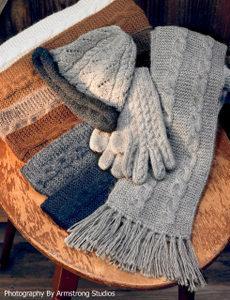 Trenza Cable Alpaca Gloves PL-16207