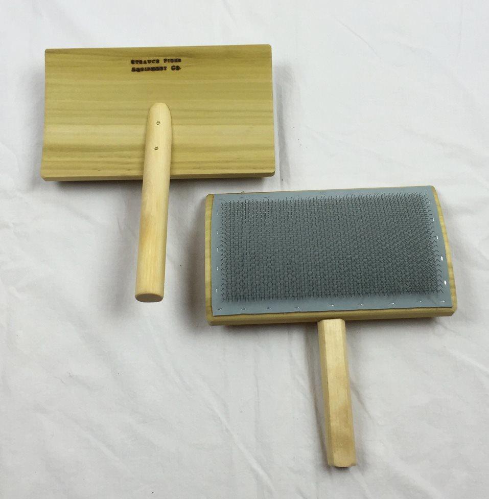 8-inch Wool Hand Card 17904