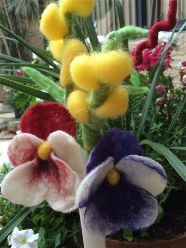 Felted Bouquet Kit