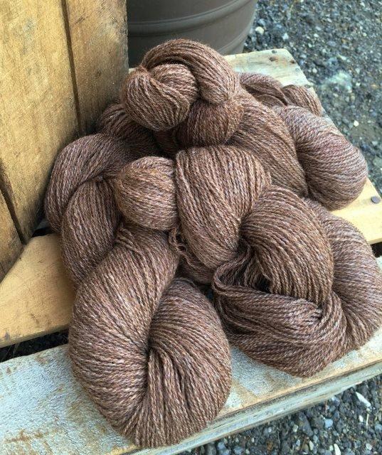 """Alpaca  Merino Yarn - Fingering Weight, """"Cobblestone"""""""