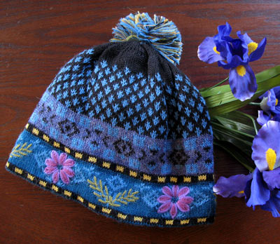 Blue Meadow Lined Hat