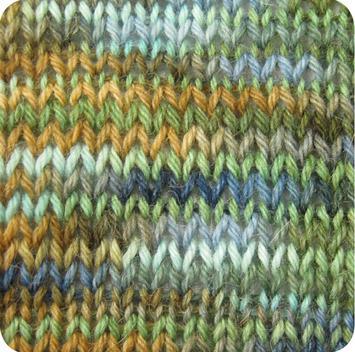 Alpaca and Superwash Wool Sock Yarn - Happy Camper