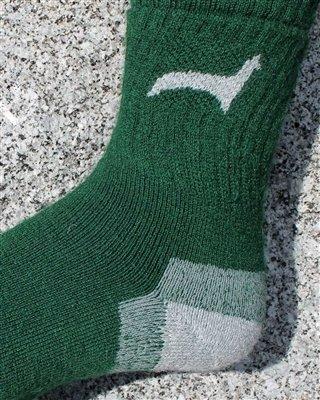 Hunter Alpaca Sock