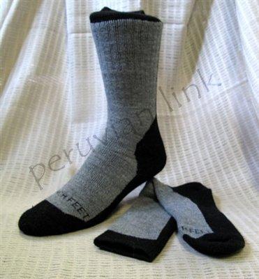 Famous Alpaca Hiker Socks PL-091032