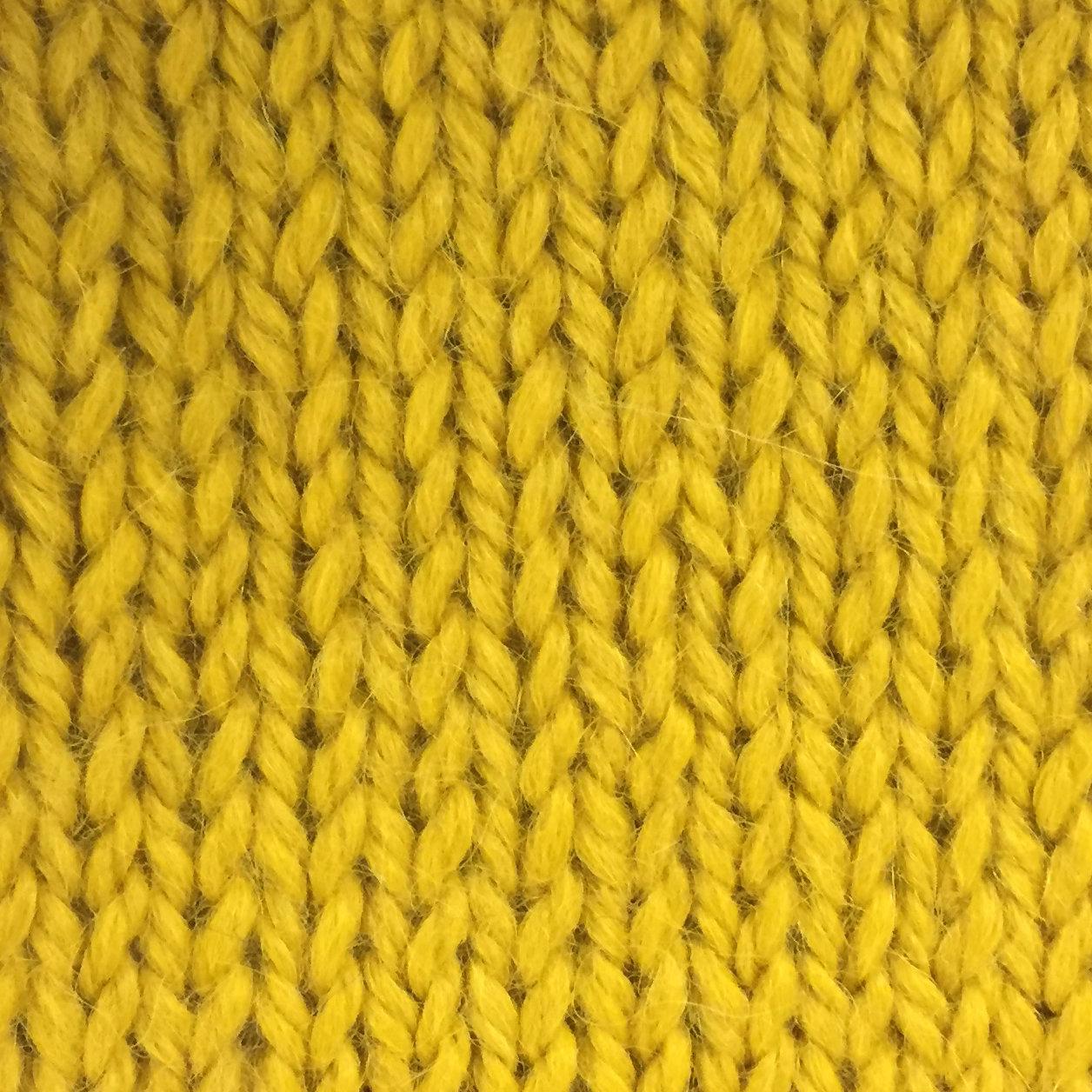 Snuggle Bulky Alpaca Blend Yarn - Sunshine