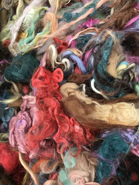 Suri Fiber - Mixed Colors