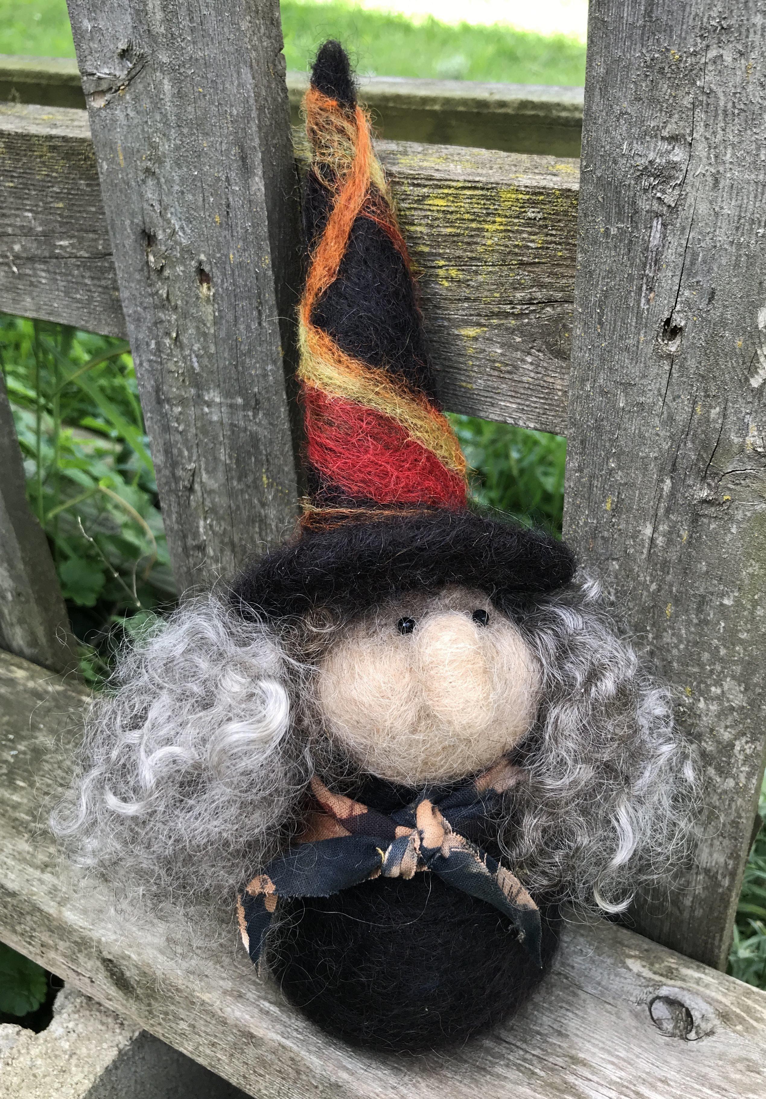Witch Needle Felting Class 18194