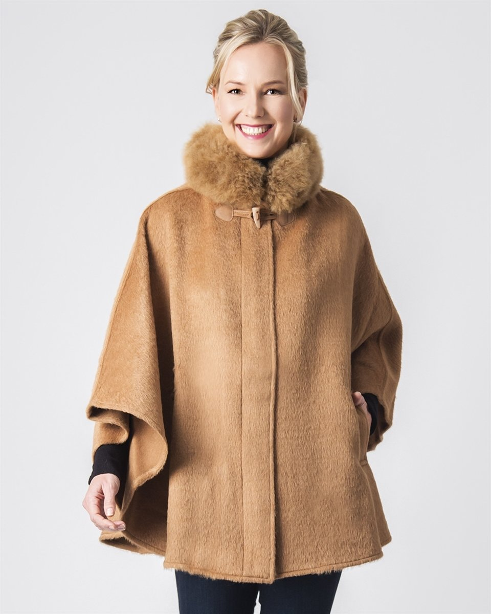 Bella Suri Alpaca Cape *LIMITED QUANTITIES* 18279