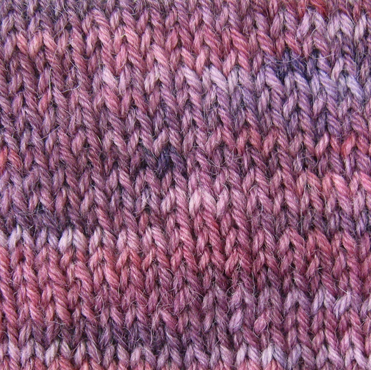 Alpaca and Superwash Wool Sock Yarn - Fresh Violets