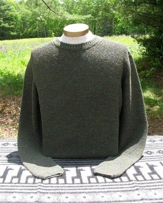 Shaker Men's Alpaca Sweater PL-300