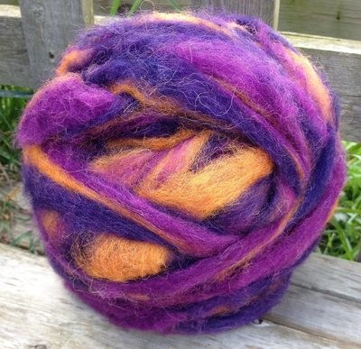 Alpaca Wool Roving - Mountain Majesty