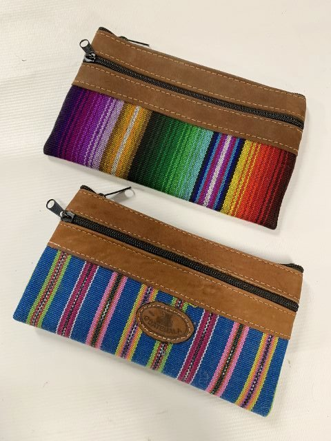 Handwoven and Leather Case 18309