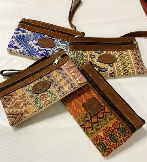 Handwoven and Leather Case 18312
