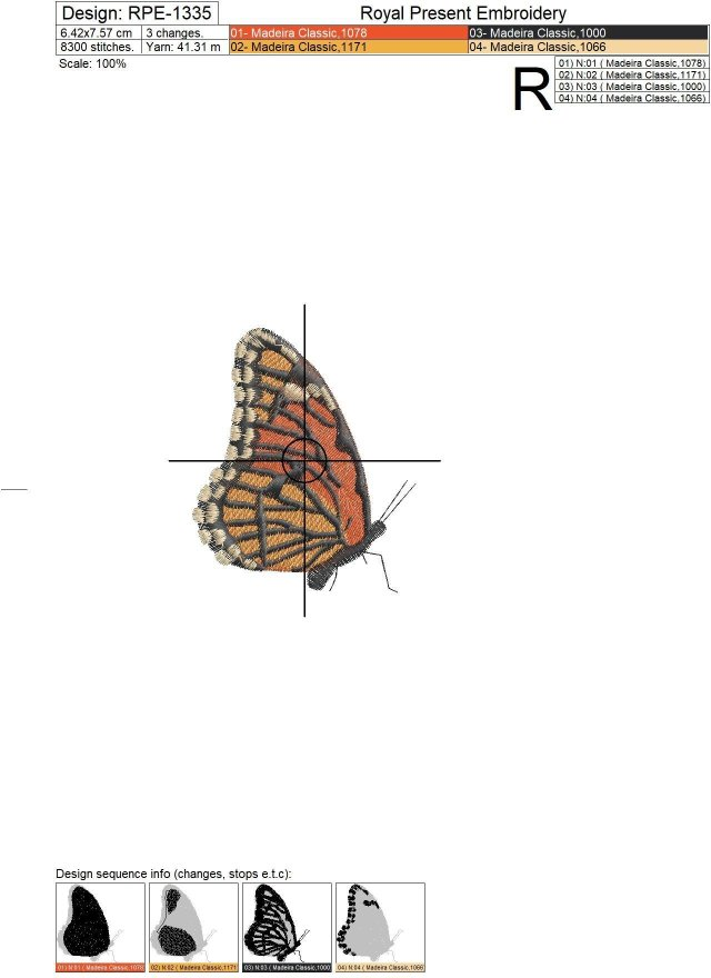 Butterflies Machine embroidery designs