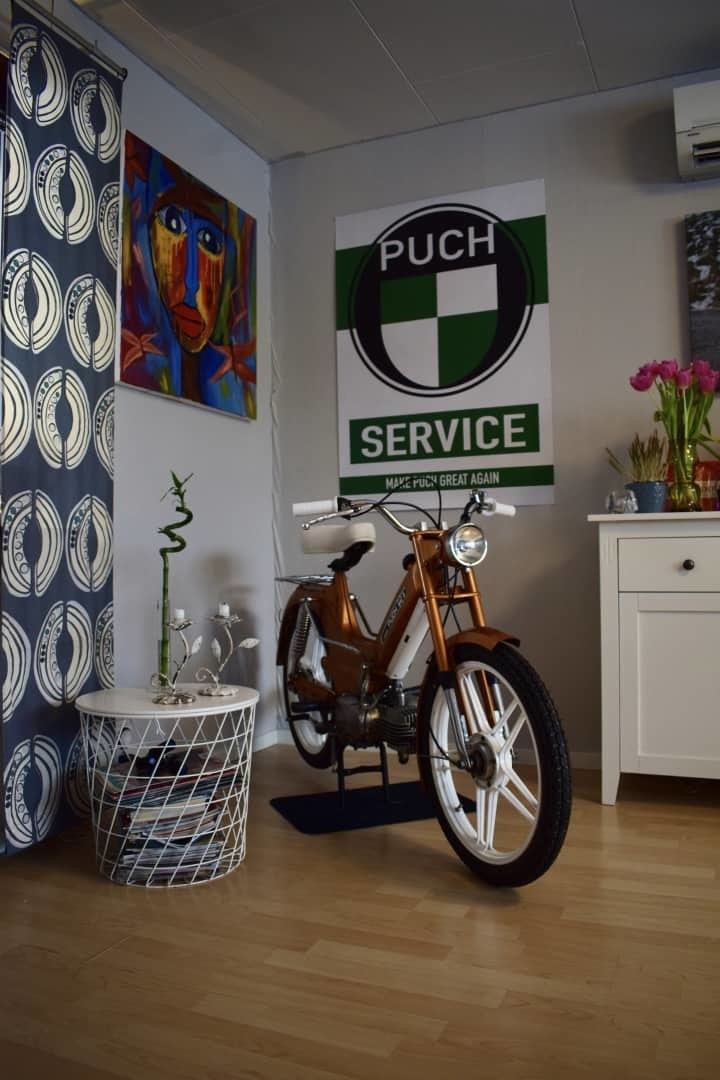 Puch Service Poster   FREE SHIPPING