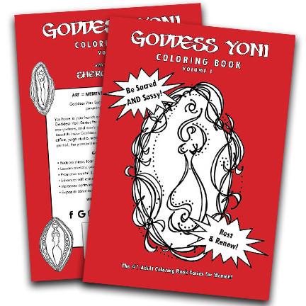 Goddess Yoni Coloring Book - Volume 1