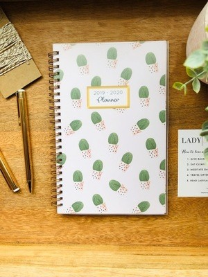 Pink Cactus 2019 Lifestyle Planner