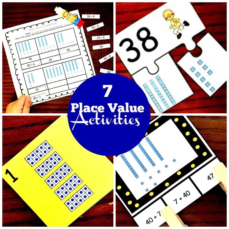 7 Place Value Activities 00010
