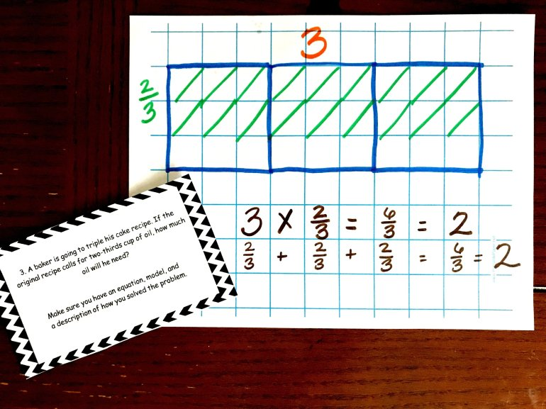 20 Multiply Whole Numbers By Fractions Word Problems 00011