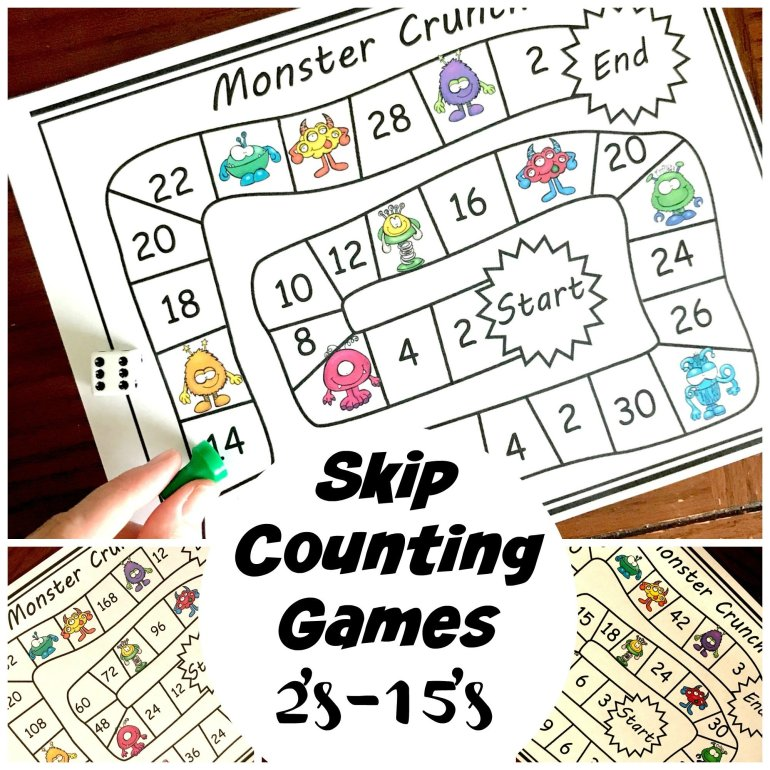 Skip Counting Games 2's Through 15's 00025