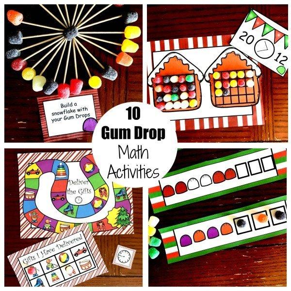 10 Gum Drop Math Activities