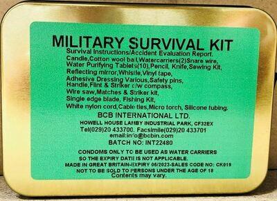MILITARY SURVIVAL KIT (1)