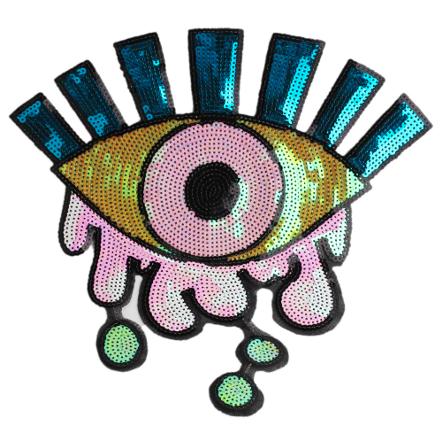 SEQUIN EYE PATCH 00037