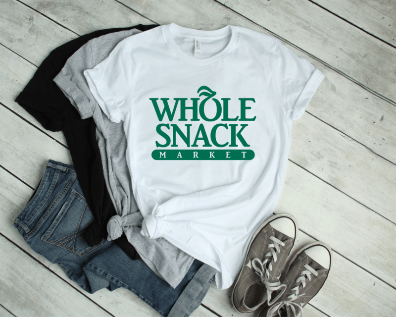**FREE SHIPPING** WHOLE SNACK Tee
