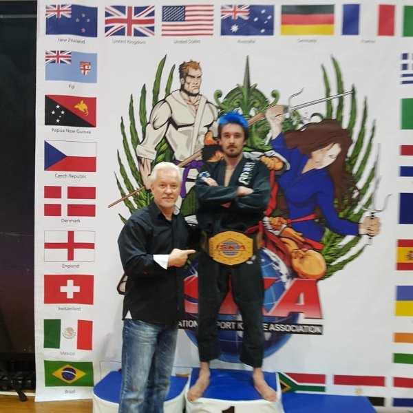 ISKA BJJ 2017 World Cup Champion