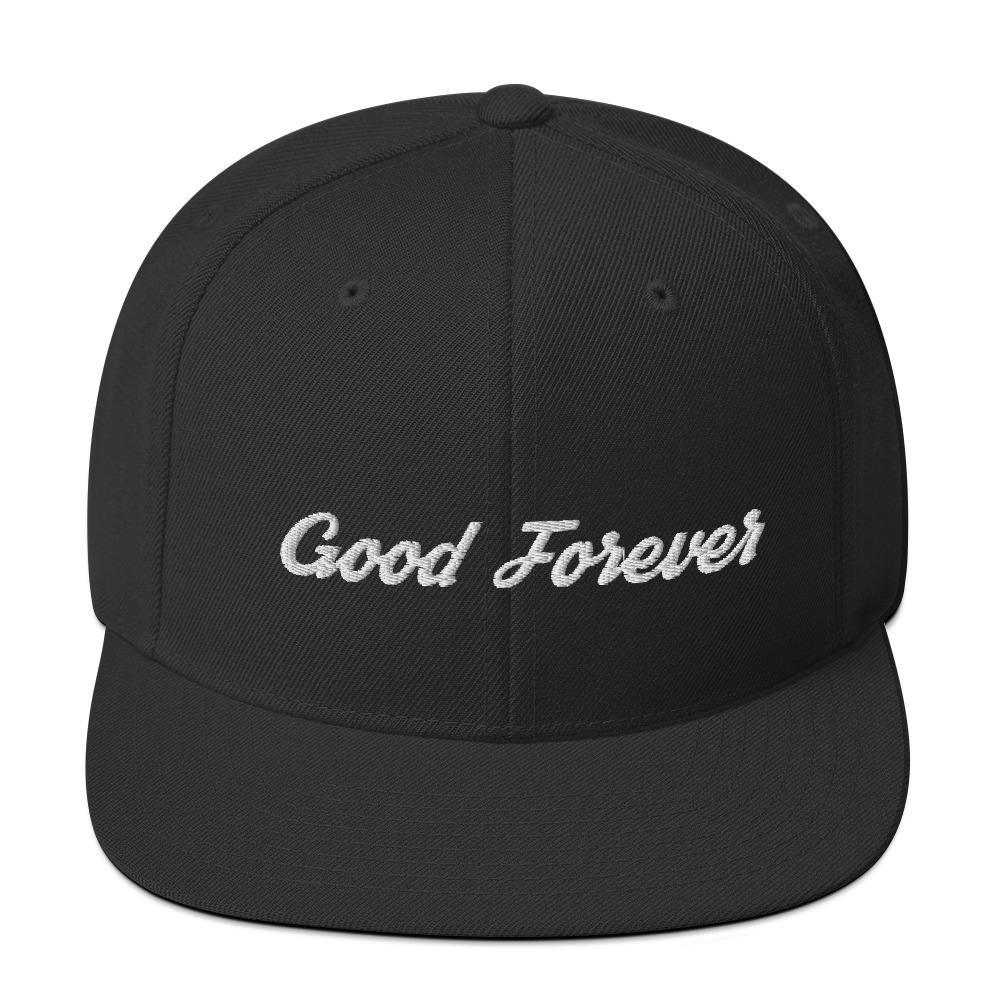 Good Forever Signature Snapback Hat 00049