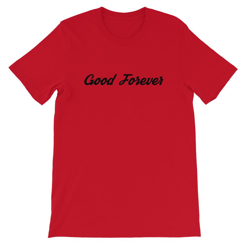 Good Forever Signature Short-Sleeve Unisex T-Shirt