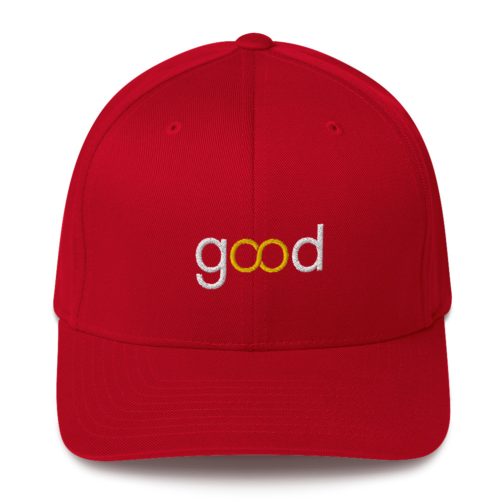 Good Forever infinity Candy Red Cap 00085