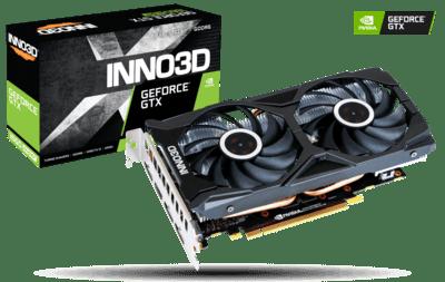 INNO3D GEFORCE GTX 1660 SUPER TWIN X2 6GB GRAPHIC CARD