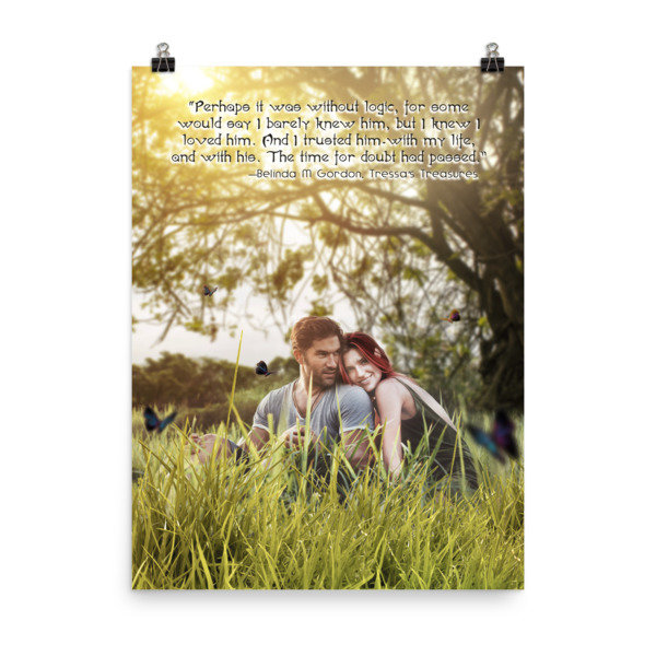 Tressa and Xander 'I love you' Poster 00012