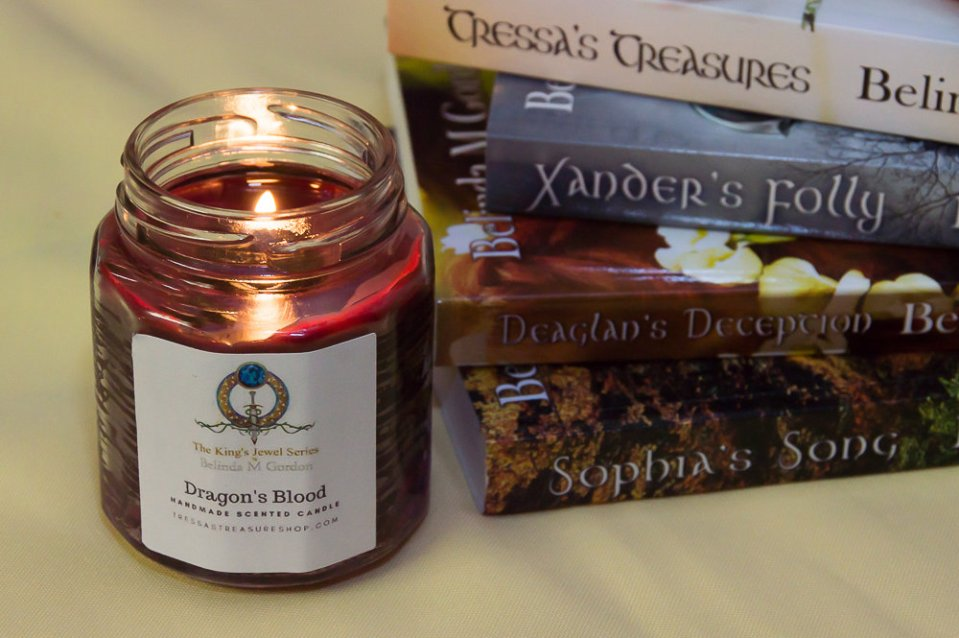 Dragon's Blood Candle
