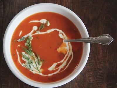 Spicy Tomato Dill Soup (1 qt.)