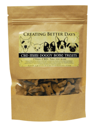 Small CBD Dog treats (5mg per biscuit)