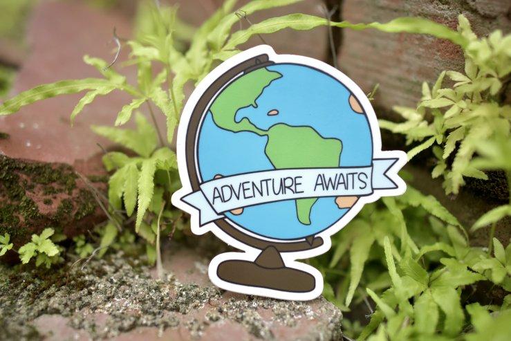 Adventure Awaits Sticker 00004