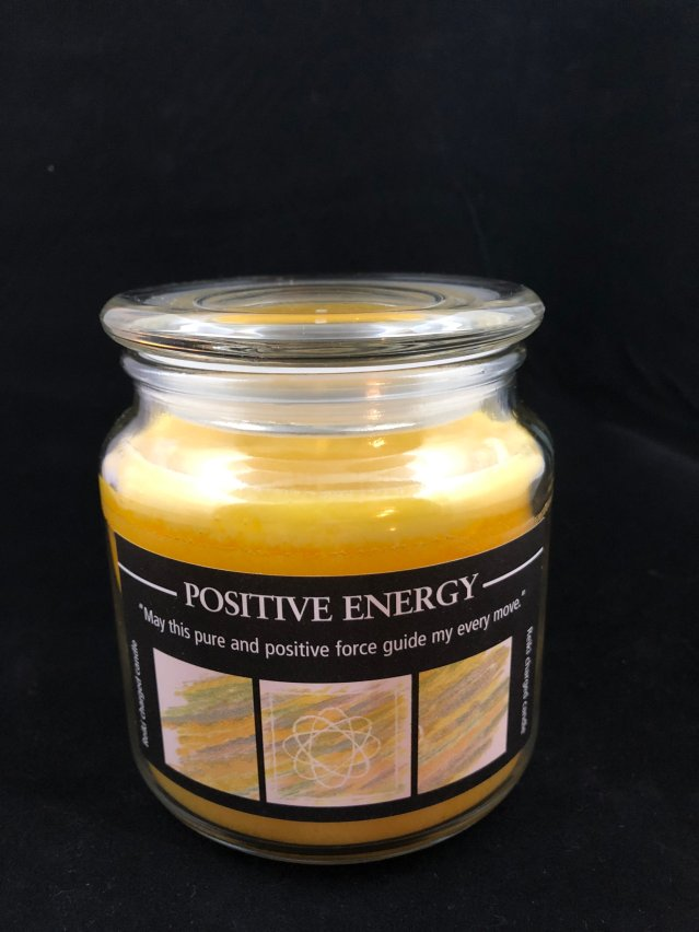 Herbal jar Candle - Positive Energy MP123