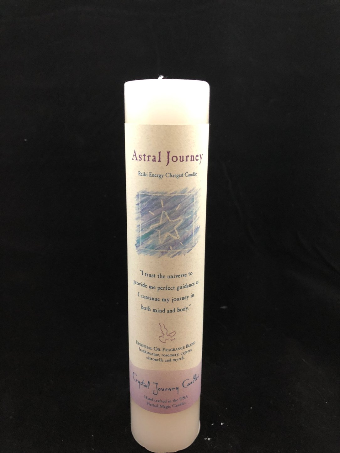 "Herbal Magic Candle - Astral Journey (1.5"" x 7"") MP125"