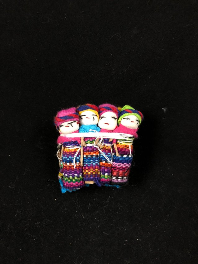 Worry Dolls 2 inch with pouch MP204
