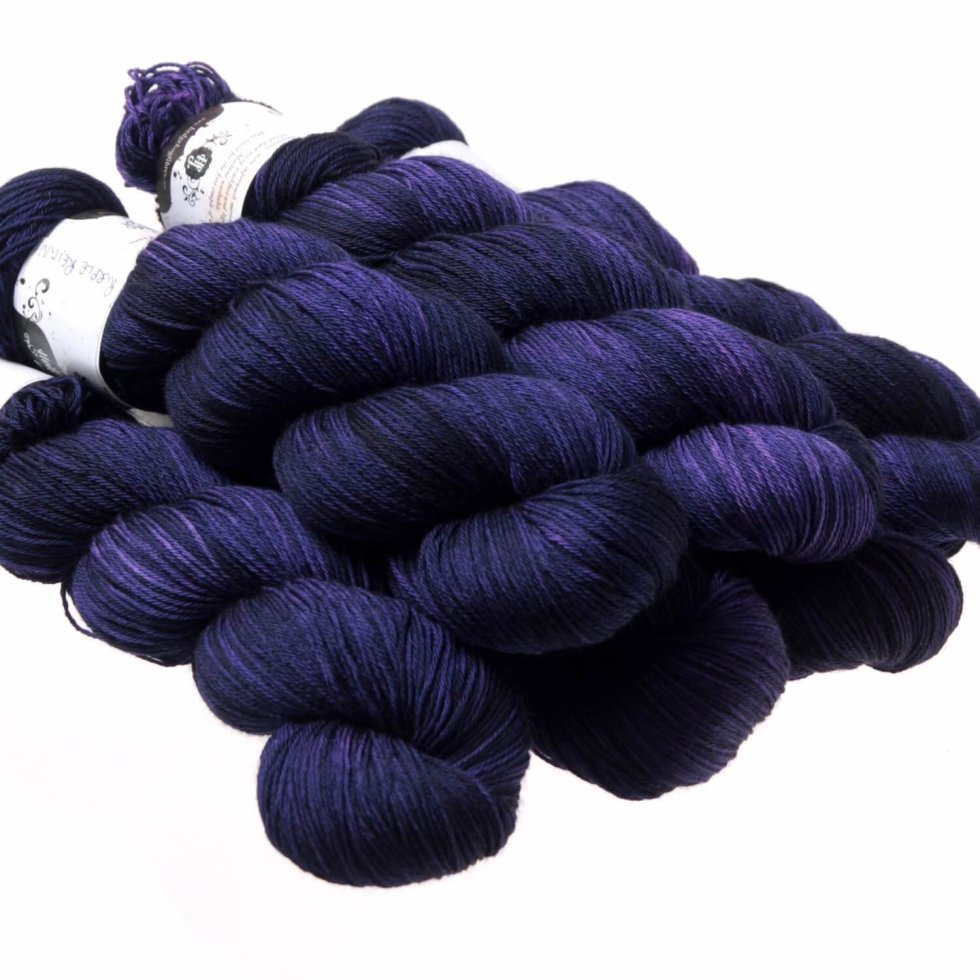 Hedgehog Fibres Kidsilk Lace in Purple Reign BY6A77SPST0SW