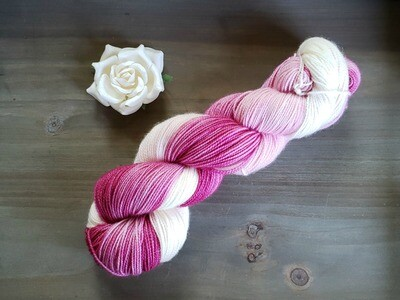 Blush Ombre Hand Dyed Yarn