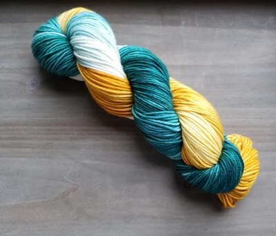Lemonade Stand Hand Dyed Yarn