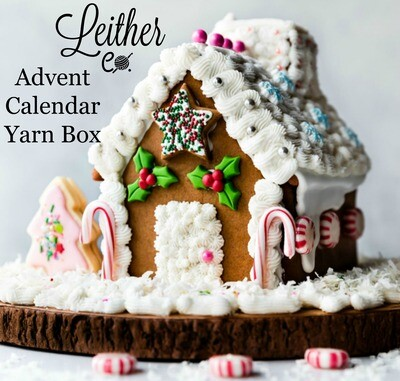 Christmas Advent Calendar Yarn Box